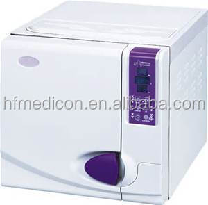 Detal equipment CE certificated class B three times pulsation vacuum steam, dental autoclave sterilizer