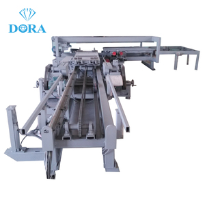 Four side precision wood cutting sliding table saw machine