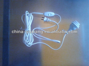 lamp cord assembly E26 white