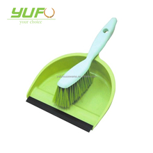 Wholesale high quality plastic mini dustpan set cleaning household brush set