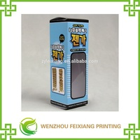 Free Design ! customize environmental packing box with PVC perspective window for children's toy
