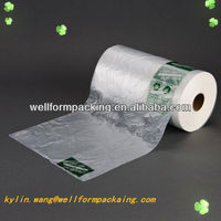 China Manufacture Plastic fruit and vegetable bag in rolls for supermarket