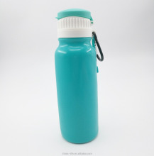 Expandable silicone water bottle sports water bottle bpa free