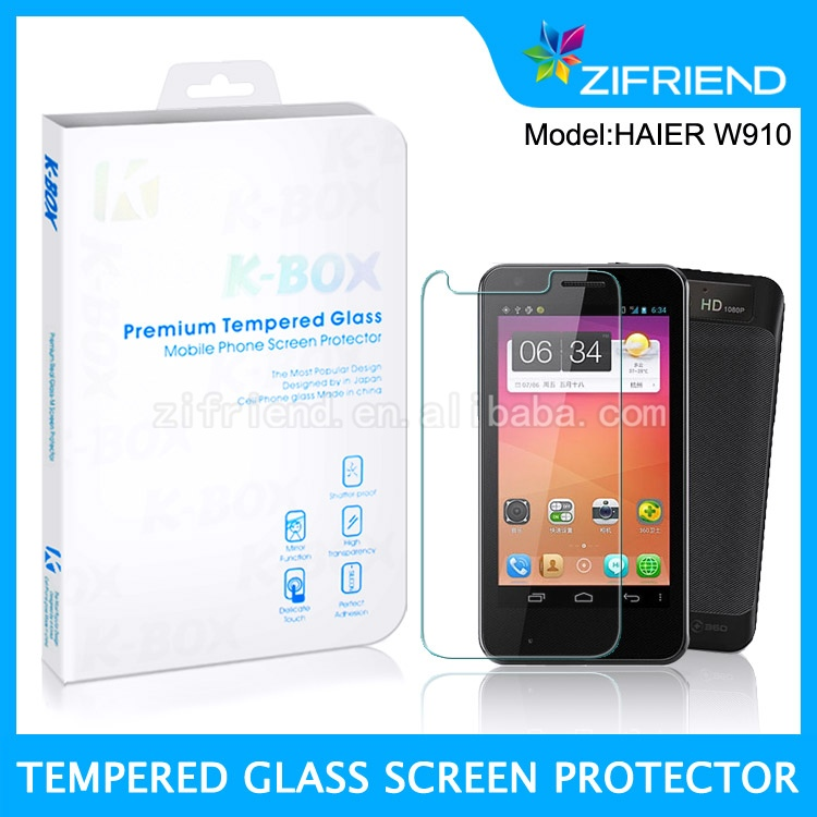 for haier w910 screen protector,touch screen glass film