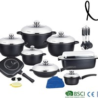27pcs High Quality Cookware Set Germany