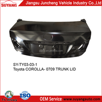 Steel Trunk Lid Toyota Corolla 07-12 Aftermarket Auto Body Parts