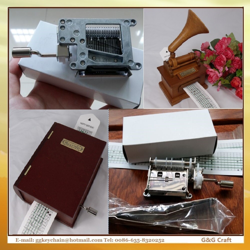 Factory outlet DIY Music Sheet Paper Strip Music Box Movement Paper Tape 15 Note MM <strong>001</strong>