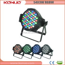 14pcs White leds Tianxing indoor stage lighting 54 3w led par light