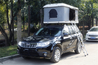 SUV folding solar panels Hard Shell Rooftop Tents