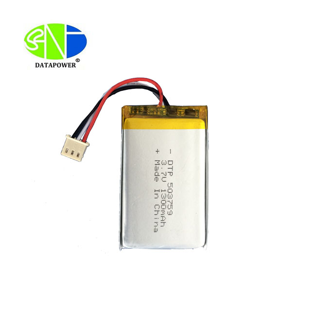 KC UL certified rechargeable flat small 450mah 3.7v lipo lithium batery