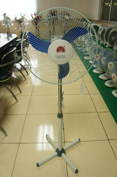 "New 2014 16"" standing fans electric"