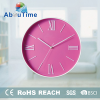 Cheap internet plastic decorative shadow wall clocks for bedroom decoration