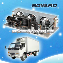 van rooftop split system refrigeration unit for truck trailer with horizontal compressor 40 units of trailer