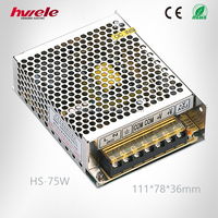 HS-75W Chinese power supplier with SGS,CE,ROHS,TUV,KC,CCC certification