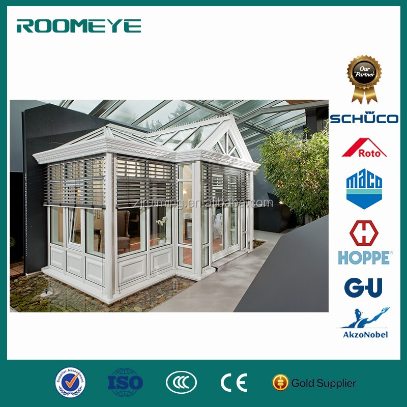ROOMEYE double tempered glass curved conservatory sunroom