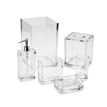 New Modern Design wholesale acrylic hotel balfour bathroom accessories