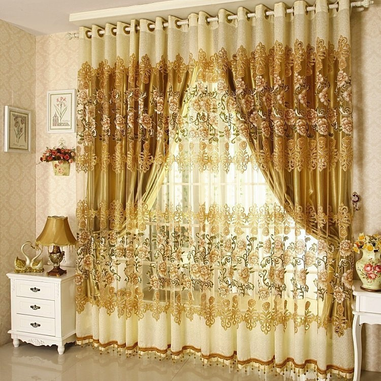 Latest Designs 2017 Blackout Window Curtain For Hotel And Home