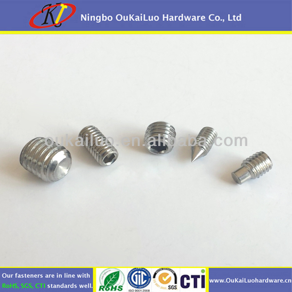 Stainless Steel Set Screws with good anti-corrosion