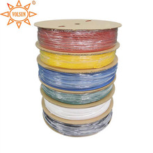 125degree 4.5mm multi colors electric wire insulation tube