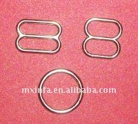 Bra strap ring and adjuster