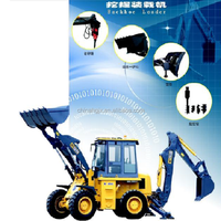 XCMG small WZ30-25 loader backhoe with low price
