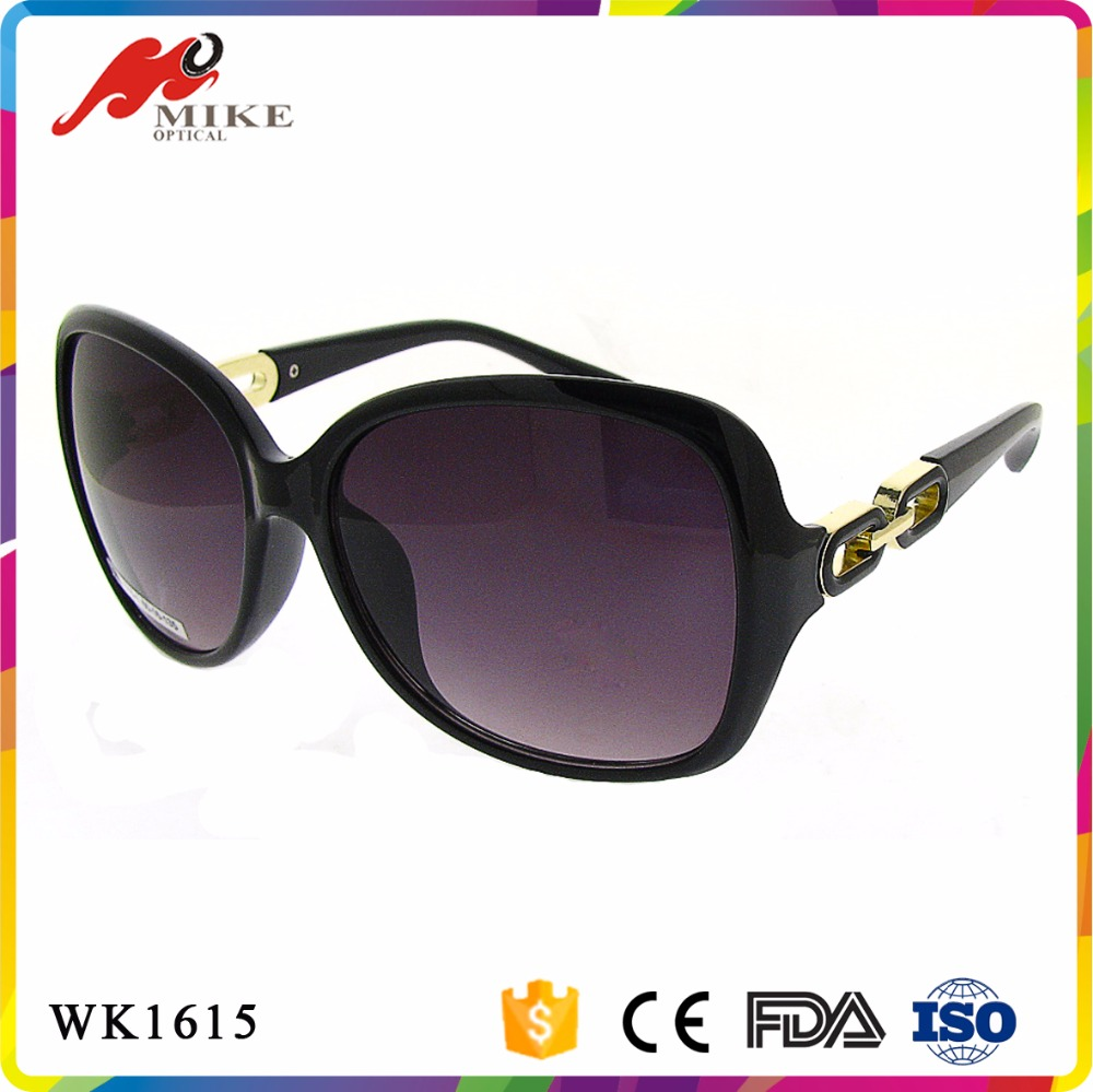 New products 2016 designer sunglasses fashion ladies women PC with sunglasses