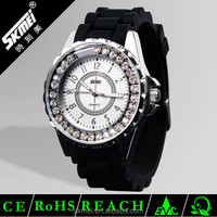 Jelly silicone wristwatches famous brand SKMEI watches custom logo