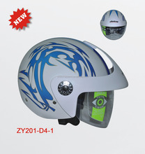 Motorcycle Half Face Helmet,Single Visor Flip Up Helmet,High Strength ABS Helmet,MOTORCYCLE HELMETS