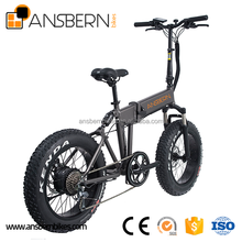 20 Inch 500W 36V 10.4AH Folding Fat Electric Bike full suspension fat tire electric bike ASB-EB-04
