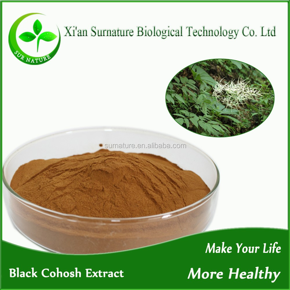 High quality Pure natural plant extracts black cohosh extract