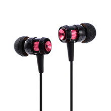 wire microphone headset earbuds with mic sport earphone