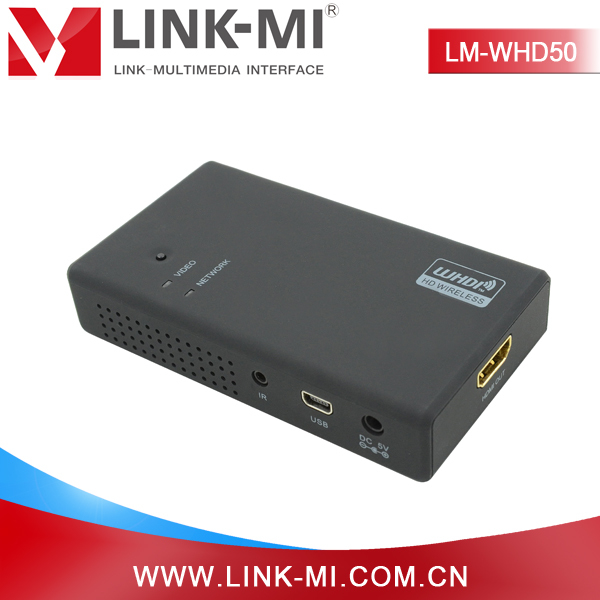 LINK-MI OEM LM-WHD50 50M HDMI Transmitter and Receiver without interference 1080P Support USB HID remote control