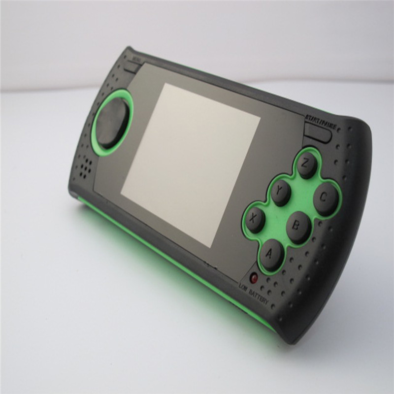 New Portable 3 Inch 16 Bit Handheld Game Console Players Gaming Consoles Build In 100 Classic Games MP3 MP4 Game Player