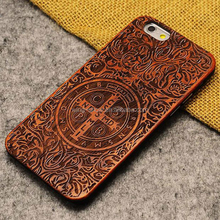 Mobile Phone Accessories,Cherry Wood+TPU Phone Case For IPhone 6/6s,natural wood phone cover