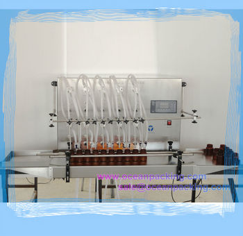 semi automatic 10heads E cigarette filling machine