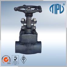 low price 6 inch water butt weld gate valve