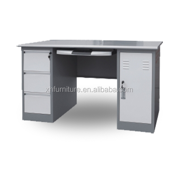 metal office table computer printer table design