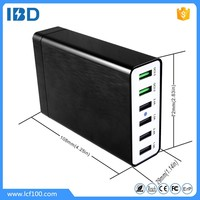 2016 fast moving consumer products 6-port usb quick charge 2.0 desktop charger rapid-charging for android tablet