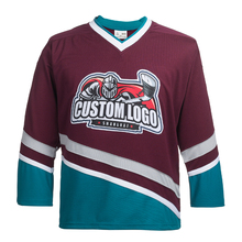 Custom Name/Number For Team Mighty Ducks Embroidery Hockey Jersey