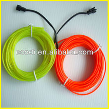 reasonable price glow up wire,neon glow costume,electroluminescent light wire