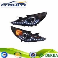 For Hyundai Sonata Car 11-14 Led Head Lights Projector Lamp (Fits: Hyundai Sonata)