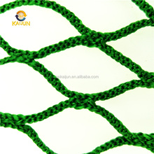 KAIJUN 100% virgin HDPE Debris fall safety netting, Construction Building Scaffolding Safety Rope Netting