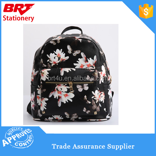 Butterfly Pattern Latest School Bags for Girls