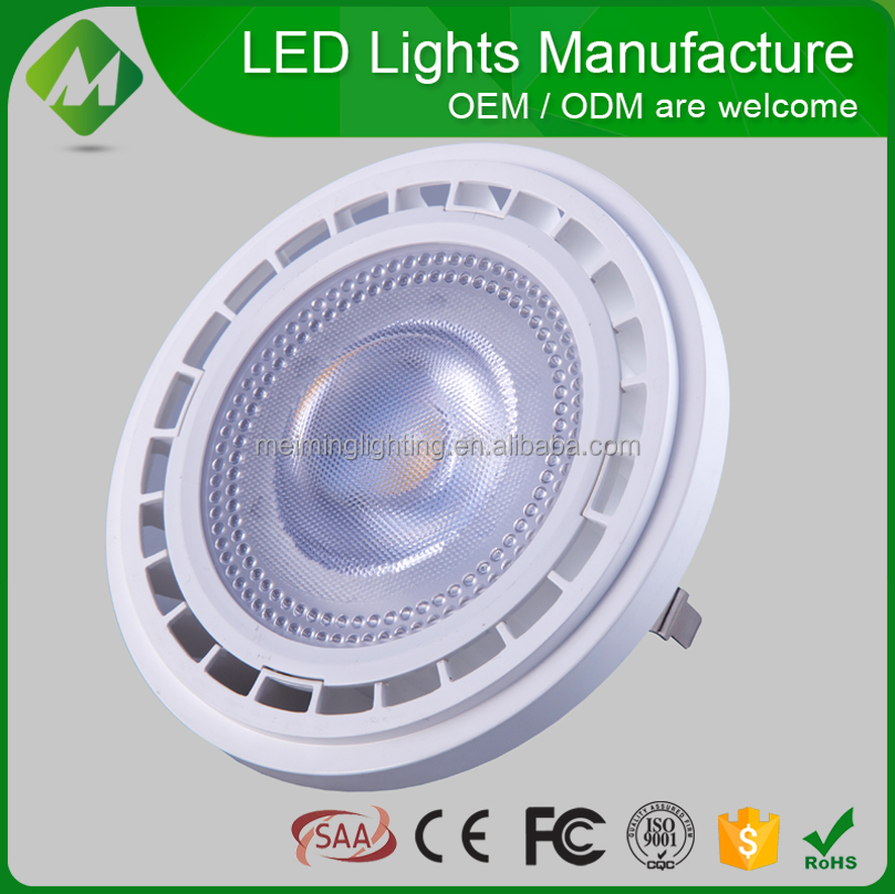 ES111 AR111 LED COB Spotlight 10w 12w/ES111 AR111 COB LED Light