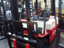 New arrival used Toyota forklifts 3.5ton, 3ton, 2.5ton, 5ton, 1.8ton for cheap sale!