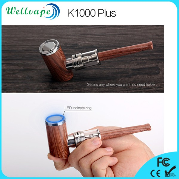 Alibaba express wellvape best selling e pipe vaporizer kamry K1000 plus lost vape
