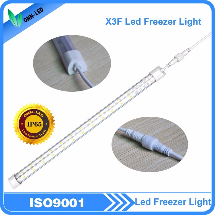 Refrigerated display case LED tube light