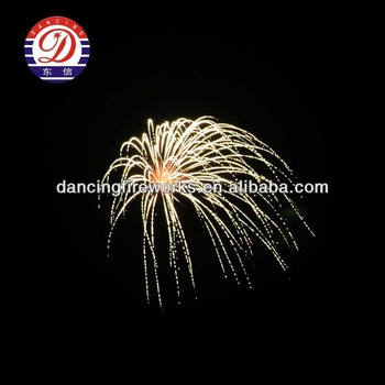Dancing Display Shell Firework for pyrotechnics with good quality and price
