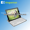 Aluminum Bluetooth keyboard for iPad2&3