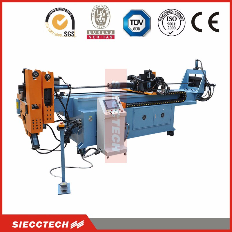 full auto 50mmx3mm stainlesss steel SB50CNC cnc pipe bender for sale, 1/2-3 hydraulic pipe bending machine for cattle stall